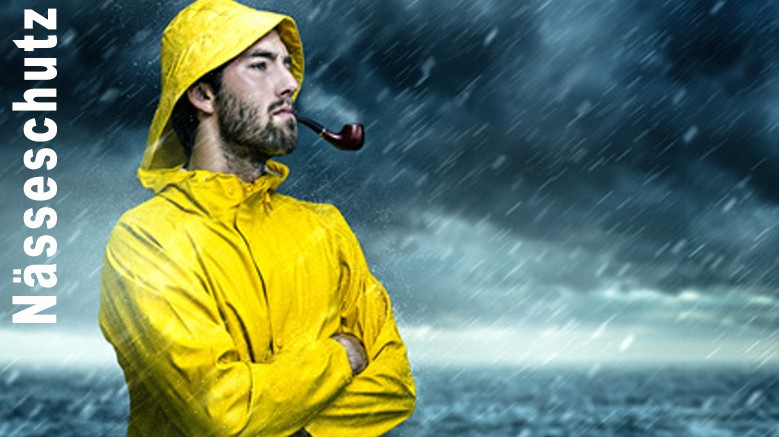 Regenbekleidung, Fischereibekleidung , Offshore und Wathosen